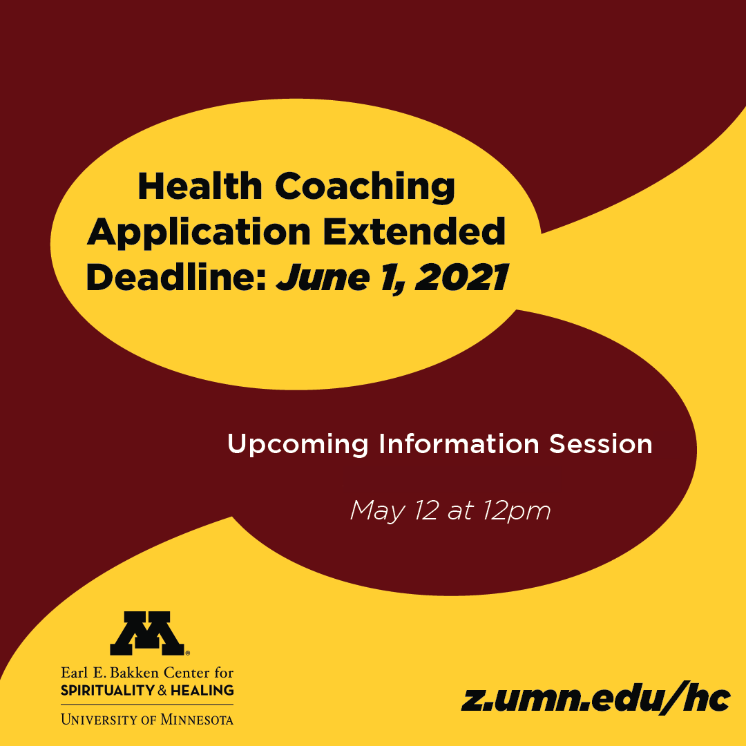 extended health coaching application deadline