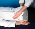 Person performing reiki