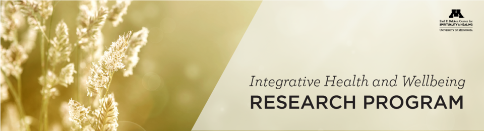 Integrative Health and Wellbeing Research Program