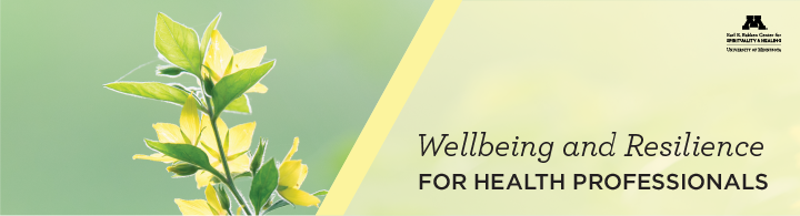 wellbeing and resilience for HP