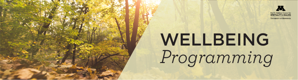 Wellbeing programming