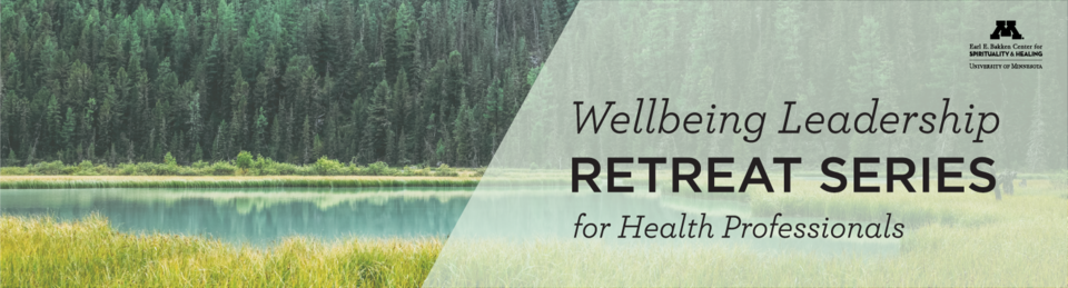 Wellbeing leadership retreat series for health professionals
