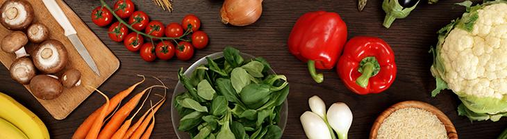 Vegetables and leafy greens functional nutrition